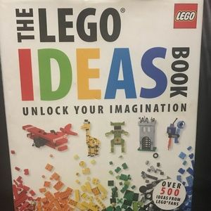 Lego Accents - Huge lego coffee table book. Great Condition!